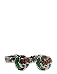 Tateossian Multicolour Knot Cufflinks