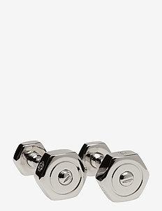 Tateossian Nut and Bolt Cufflinks - manschettknoppen - silver colour