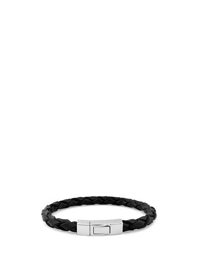 Tateossian Click Scoubidou Bracelet - BLACK