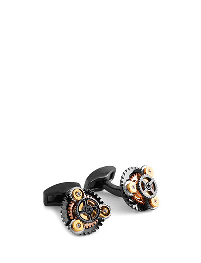 Tateossian Gear Rotondo Cufflinks - MULTICOLOUR