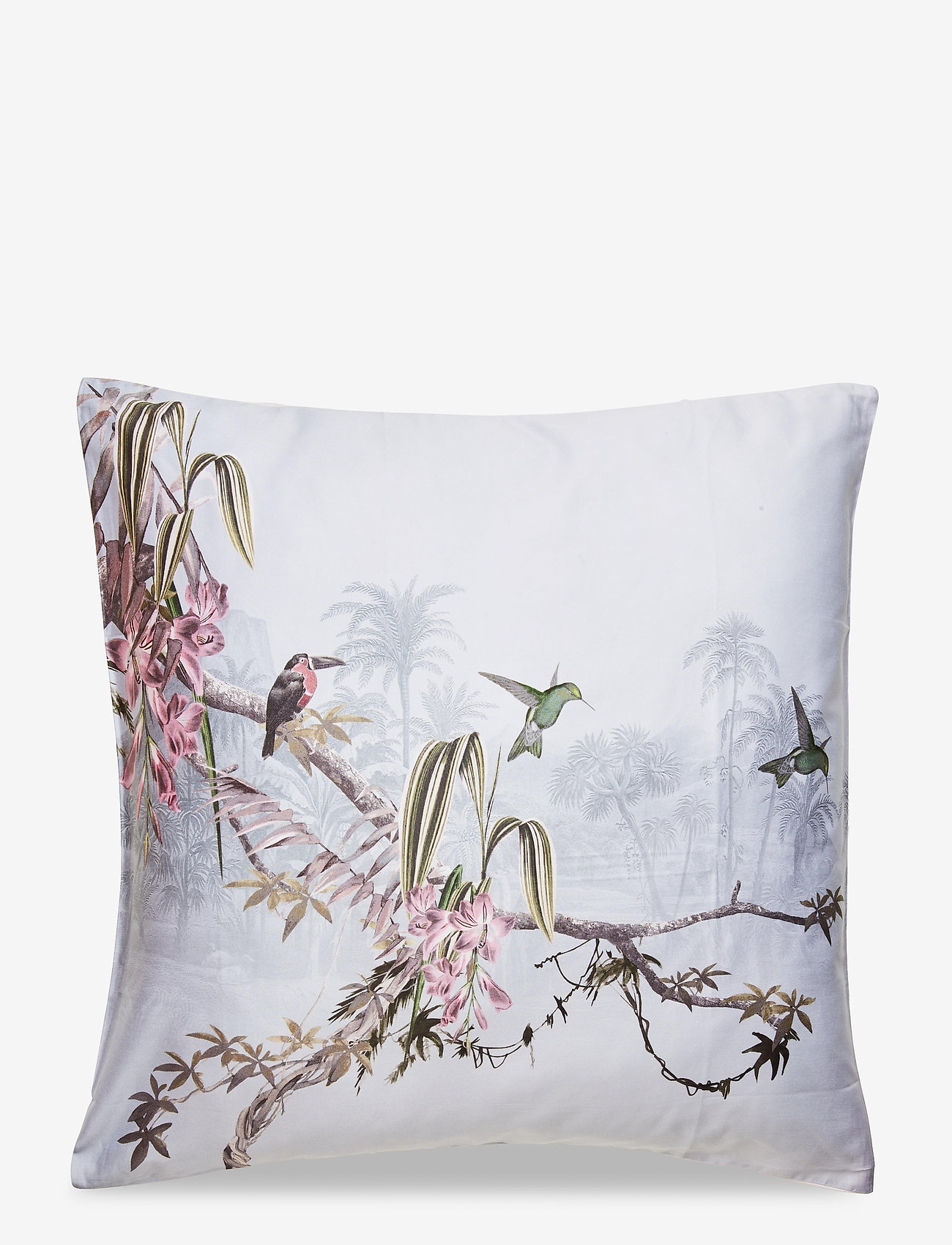 Ted Baker - Pillowcase Single 1 pc Hibiscus - taies d'oreiller - hibiscus grey - 0