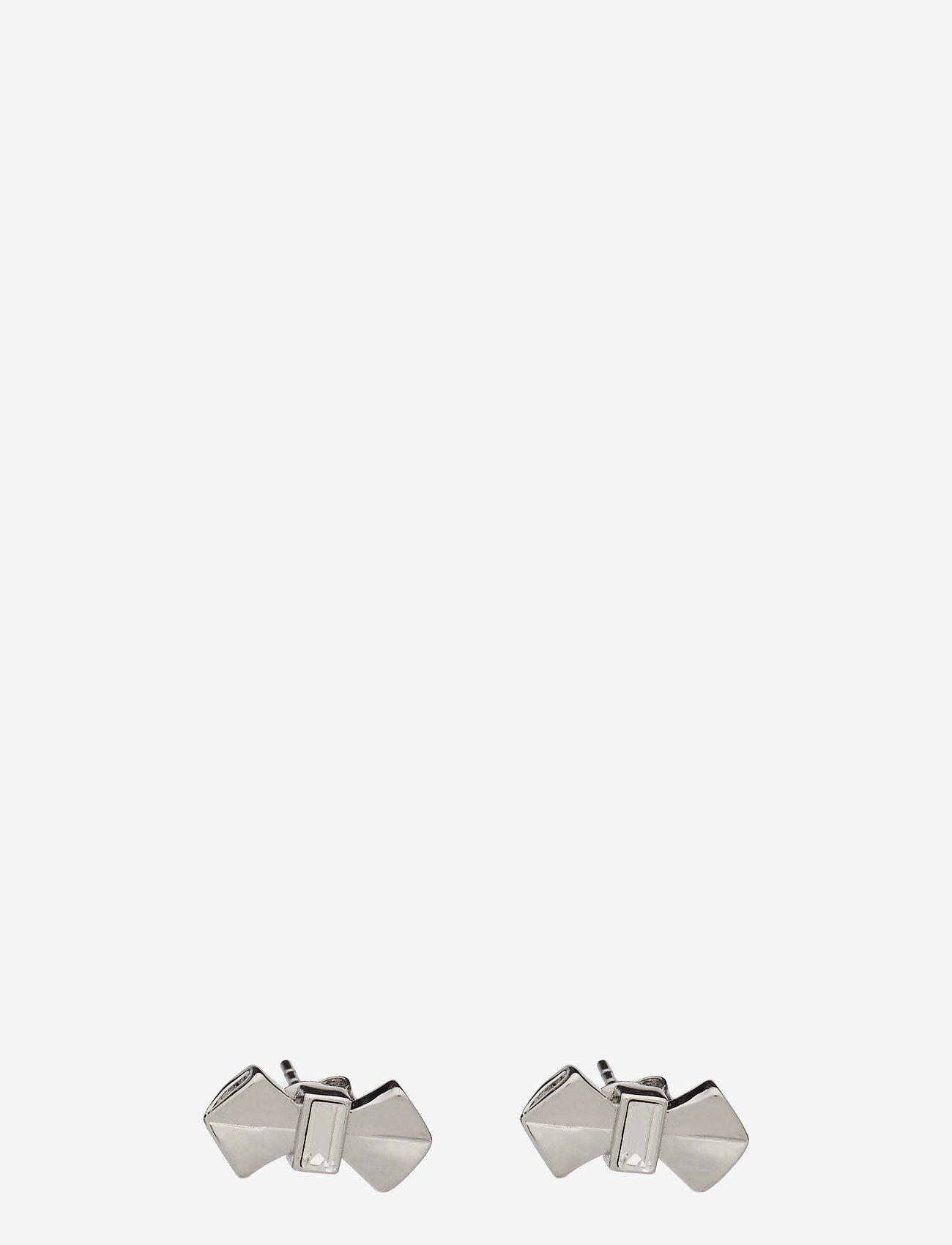 Ted Baker - SUSIEE - stud oorbellen - silver/crystal - 0