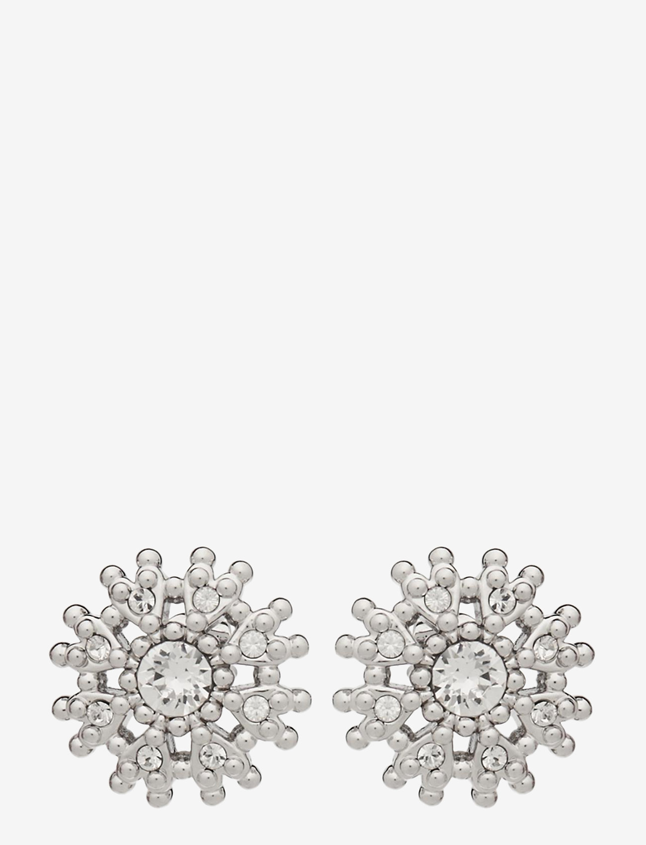 Ted Baker - LESLEA - stud oorbellen - silver/crystal - 0