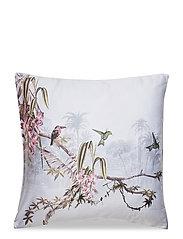 Pillowcase Single 1 pc Hibiscus - HIBISCUS GREY