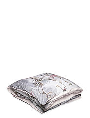 Single Duvet Cover Hibiscus - HIBISCUS GREY