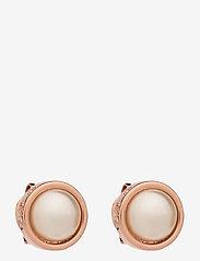 Ted Baker - SINAA - stud oorbellen - rose gold/pearl - 0