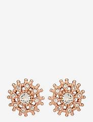 Ted Baker - LESLEA - stud oorbellen - rose gold/crystal - 0