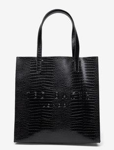 CROCCON - shoppers - black