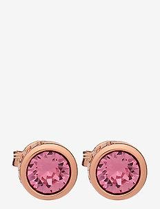 SINAA - stud oorbellen - rose gold/rose