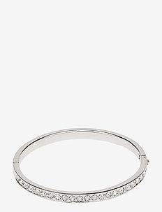 CLEMARA - bangles - silver/crystal