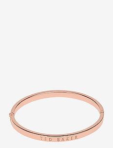 CLEMINA - bangles - rose gold