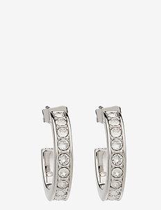 SEANNA - cerceaux - silver/crystal