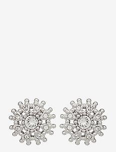 LESLEA - goujons - silver/crystal