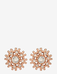 LESLEA - goujons - rose gold/crystal