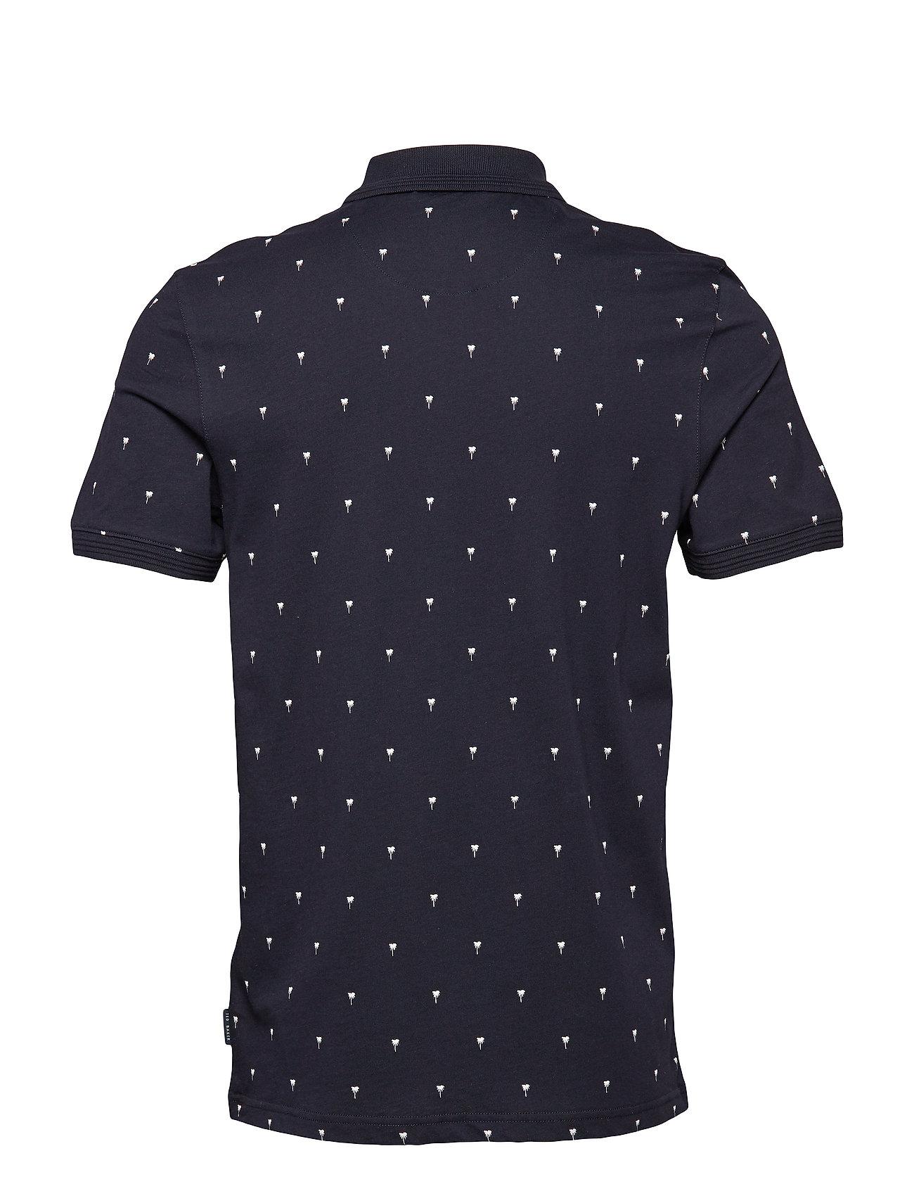 Philip Kortærmet Skjorte Blå TED BAKER