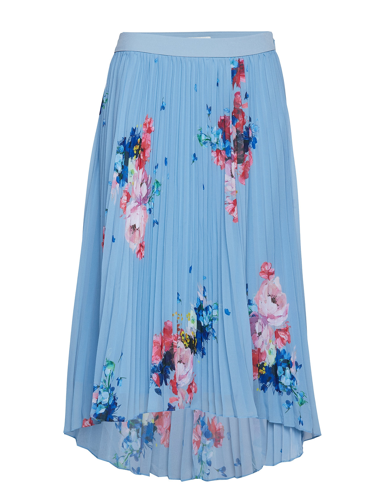 TED BAKER Harrpa Knielanges Kleid Blau TED BAKER