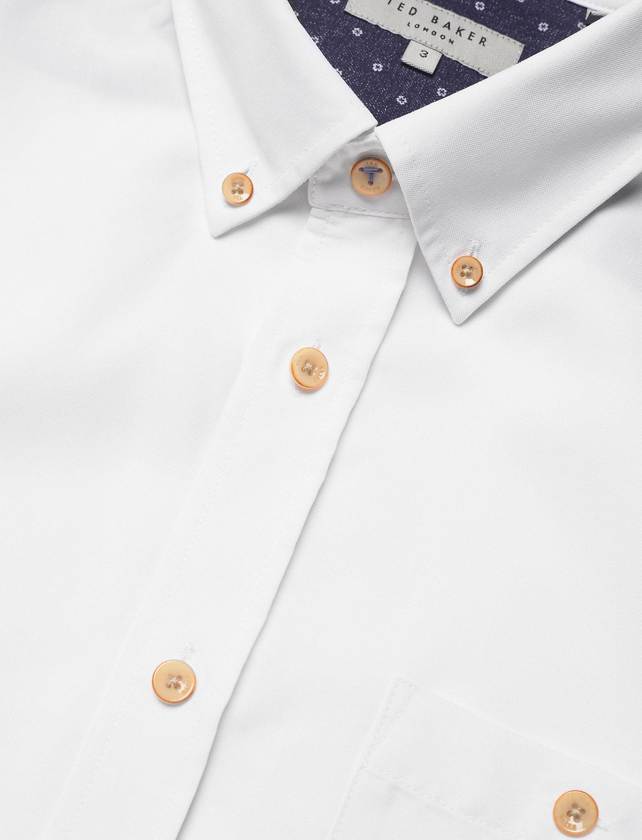 Ted Baker - YASAI - geruite overhemden - white - 3