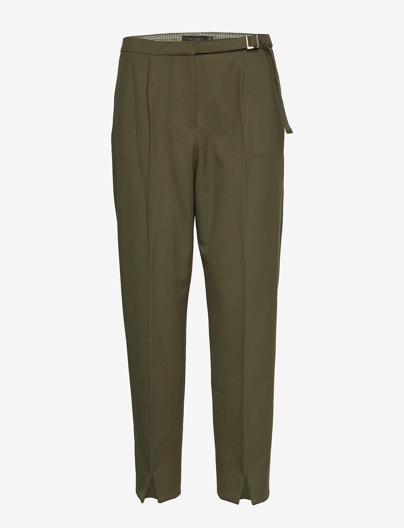 Ted Baker - STARME - straight leg trousers - khaki