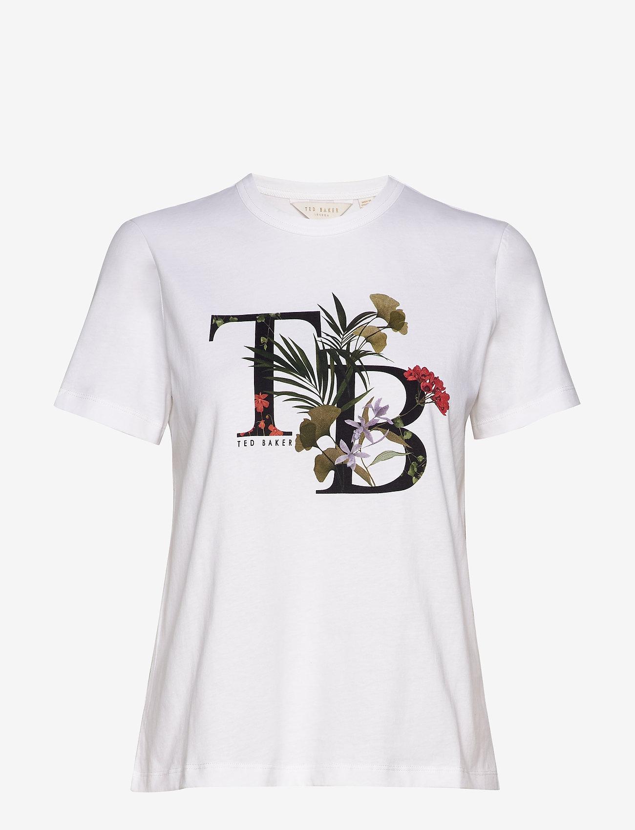 Ted Baker - AYMELIA - logo t-shirts - white
