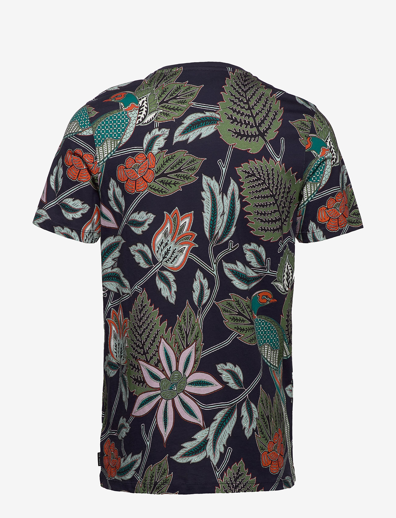 Ted Baker - ARCADE - short-sleeved t-shirts - navy