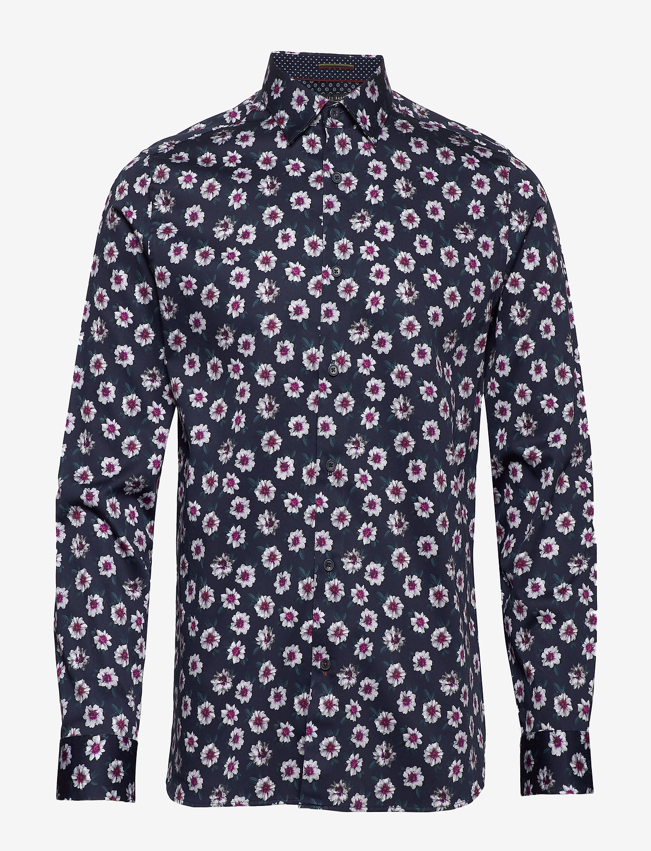 Ted Baker - WEWILL - casual shirts - navy