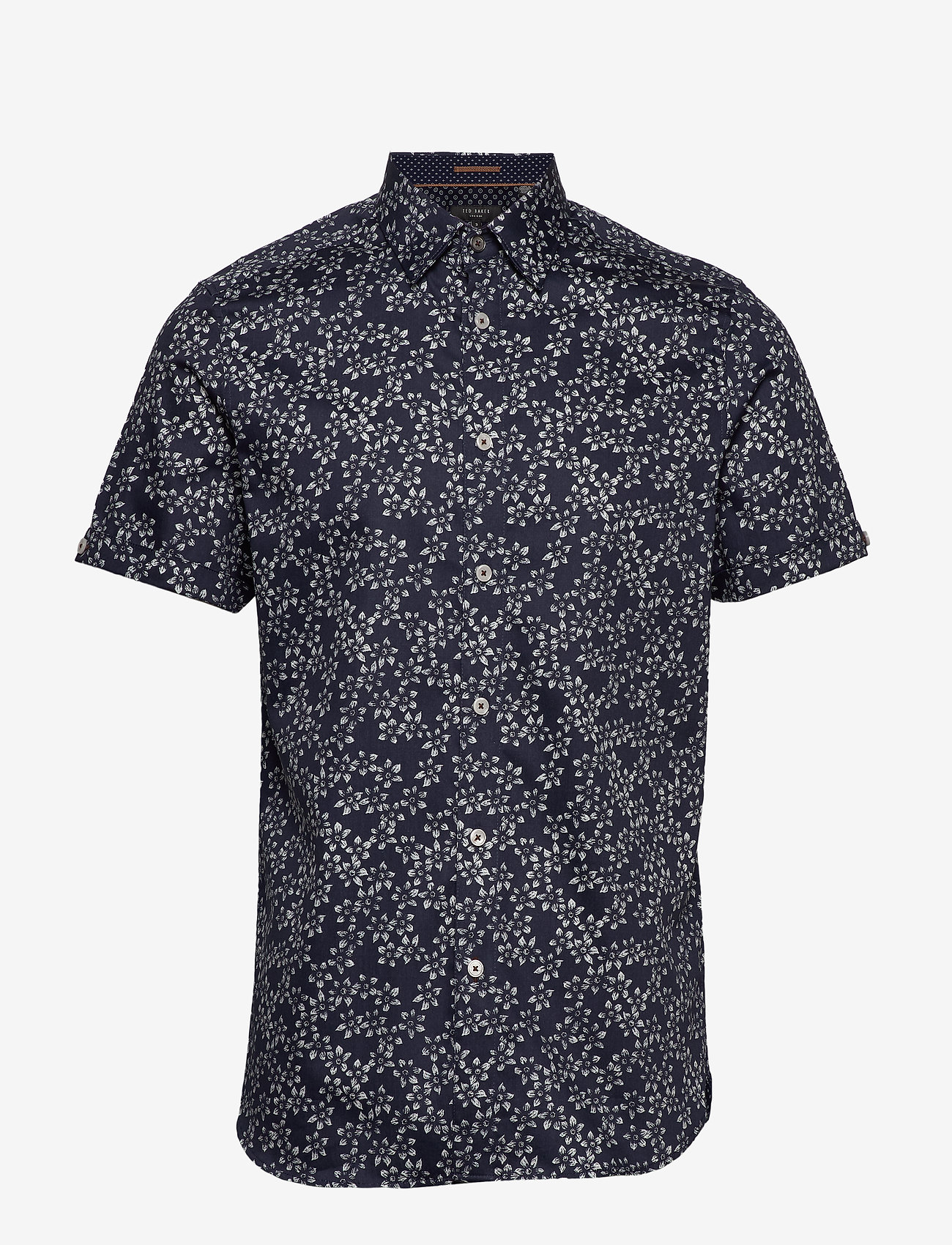 Ted Baker - YEPYEP - short-sleeved shirts - navy