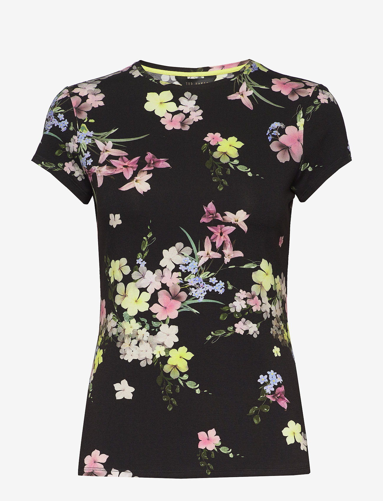 Ted Baker - ALIEY - t-shirts - black