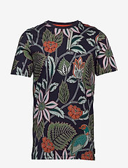 Ted Baker - ARCADE - short-sleeved t-shirts - navy - 0