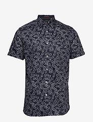 Ted Baker - YEPYEP - short-sleeved shirts - navy - 0