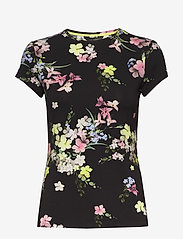 Ted Baker - ALIEY - t-shirts - black - 0