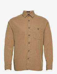 Ted Baker - BREWIN - linnen overhemden - beige - 0