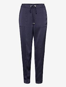 TORIY - spodnie na co dzień - navy