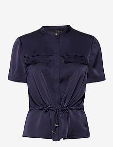AYVAA - bluzki z krótkim rękawem - navy