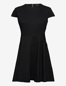 GIJI - sukienki do kolan i midi - black