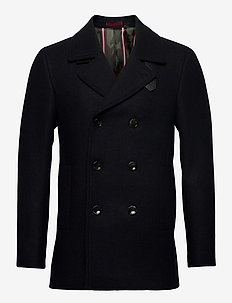 SUMMIT - manteaux de laine - navy
