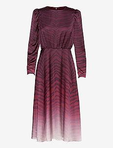 BANARNI - robes de cocktail - oxblood