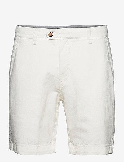 MASKE - chino's shorts - white