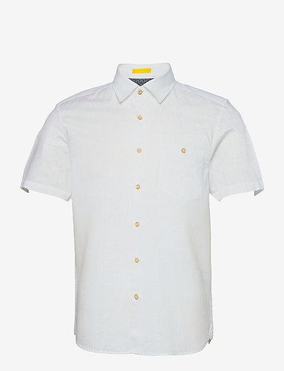 CIVICHE - basic overhemden - white