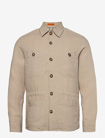 ENCHLAD - tops - taupe