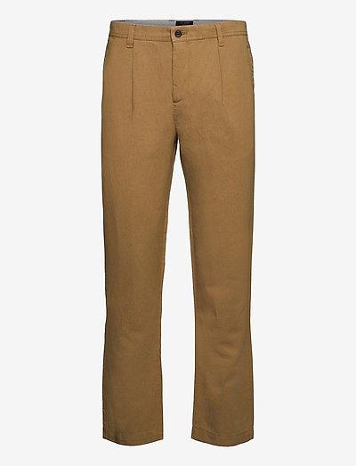 KURR - pantalons chino - camel