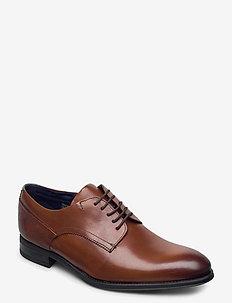 VATTAL - buty sznurowane - tan