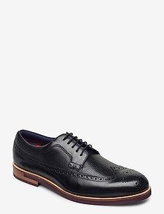 DYLUNN - buty sznurowane - black