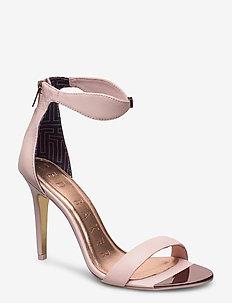 AURELIL - højhælede sandaler - nude-pink