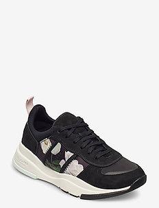 KEATON - lave sneakers - black