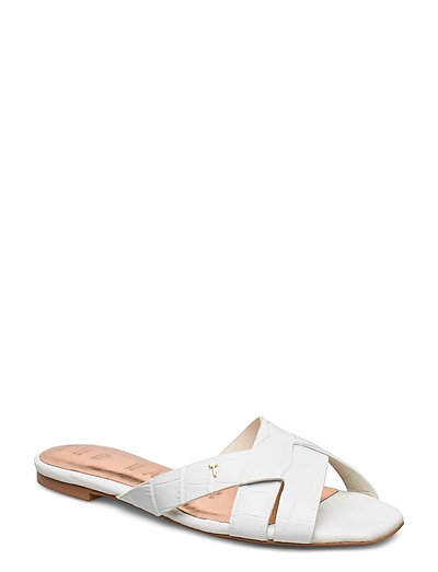 Zelania Shoes Summer Shoes Flat Sandals Weiß TED BAKER