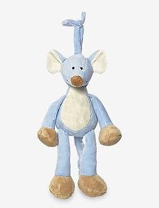 Diinglisar Musical Mouse - musical plush toys - blue