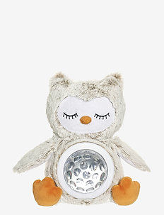 Teddy Lights night lamp Owl - kosedyr - grey
