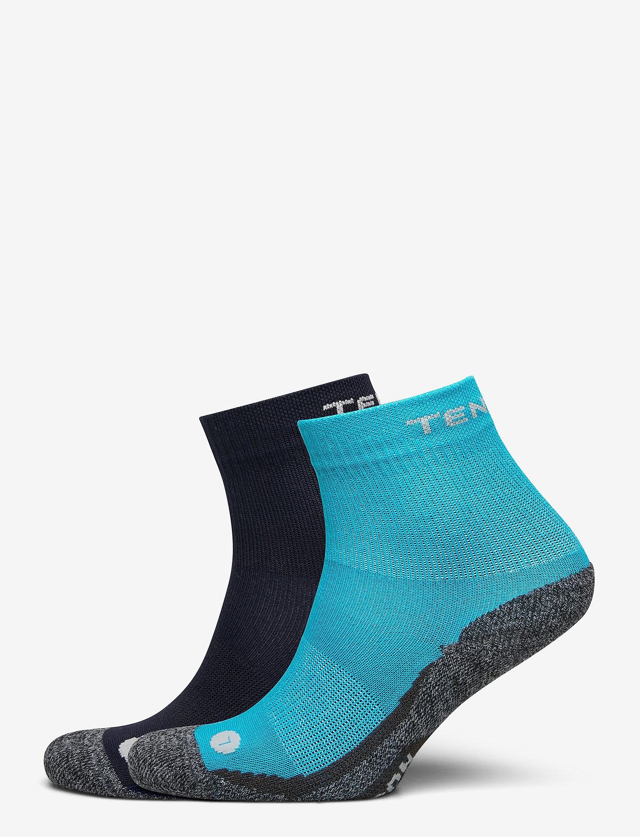 Tenson - 2basicJRtrekcrew - sokken - blue - 0