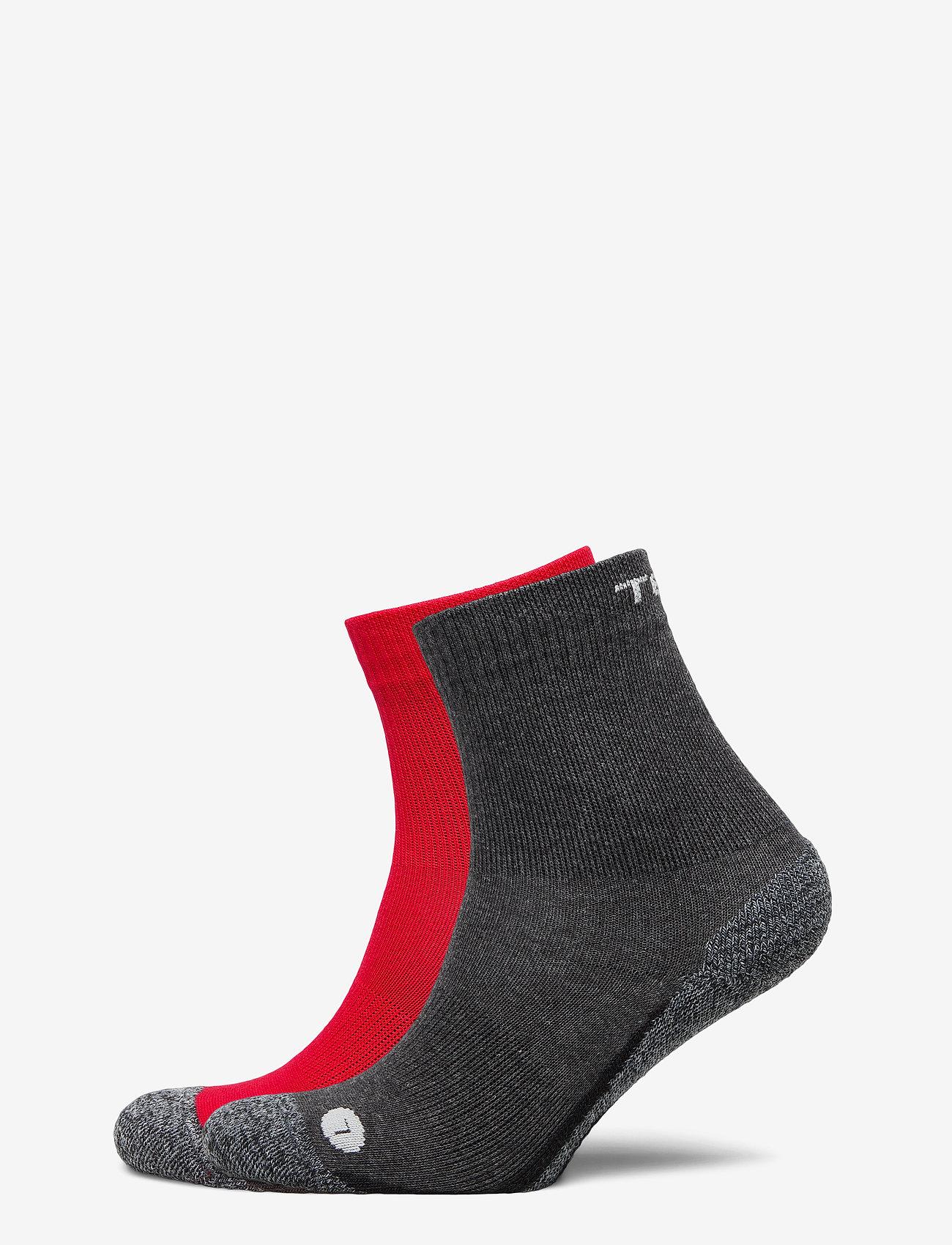 Tenson - 2basicJRtrekcrew - sokken - grey - 0