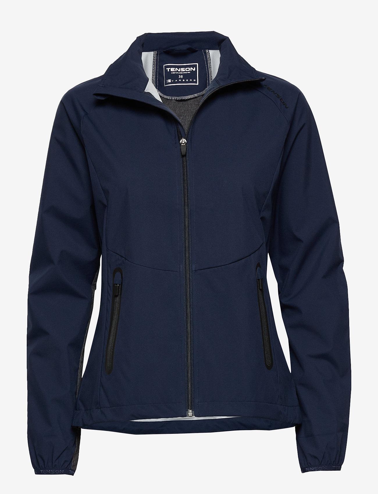 Tenson - Flora - softshell-jackor - dark blue - 0